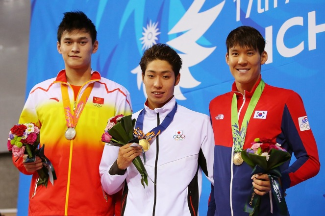 Asian Games 200 Free Men